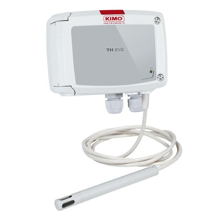 Transmissor Temperatura e Humidade KIMO TH210